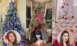 Sao Việt và hội nghiện nhà gợi ý cách trang trí cây thông Noel độc đáo
