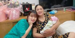Vợ Mạc Văn Khoa tiết lộ được mẹ chồng hỗ trợ chăm sóc cháu và con dâu từ A đến Z