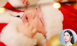 'Lụi tim' trước bộ ảnh đón Giáng sinh của con trai Á hậu Thúy Vân
