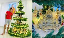 Công Vinh khoe cây thông Noel 'siêu xịn xò' từ trước đến nay chưa từng thấy