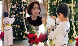 Con trai Thu Minh viết thư gửi ông già Noel, chi tiết đặc biệt khiến cô phải cười 'ngả nghiêng'