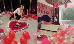 Chị gái Ngọc Trinh được chồng kém tuổi ca sĩ Tiêu Quang mừng sinh nhật lãng mạn trong biệt thự 18 tỷ