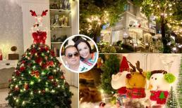 Biệt thự rộng 200m2 tràn ngập không khí Giáng sinh của vợ chồng Thúy Hạnh - Minh Khang