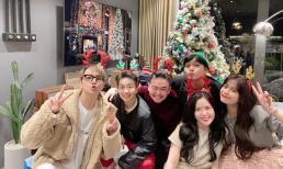 Hoàng Thuỳ Linh đón giáng sinh sớm bên Gil Lê và hội bạn
