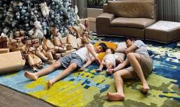 Đàm Thu Trang đăng ảnh đón giáng sinh vui vẻ bên gia đình: Bật mí món quà đặc biệt dành cho ông xã Cường Đô La