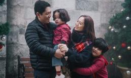 Gia đình Thanh Thúy - Đức Thịnh đón Giáng Sinh tại độ cao gần 1500m