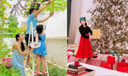 Sao Việt 25/12: Công Vinh và Thủy Tiên dự định sinh thêm con trong năm 2021; Em gái tỷ phú của Cẩm Ly - Hà Phương khoe không gian bên trong biệt thự dịp Noel