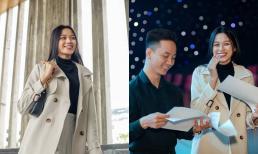 Không mặc váy cầu kì, Hoa hậu Đỗ Thị Hà diện đồ giản dị khi tổng duyệt chương trình ở Quy Nhơn