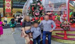 Bà mẹ thản nhiên 'thả rông' dạo chơi cùng chồng và con nhỏ khiến dân tình 'nóng mặt'