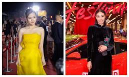 Midu lộng lẫy như đóa hoa rực rỡ, Hoa hậu Hà Kiều Anh hút chặt ánh nhìn khi mang nét đẹp Á đông đến với thảm đỏ
