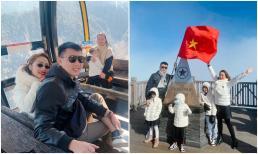 Ốc Thanh Vân 'chơi lớn' đưa cả gia đình đi du lịch ở đỉnh Fansipan