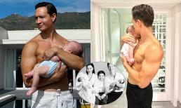 'Ông bố điển trai nhất showbiz' Kim Lý khoe body lực lưỡng, ôm con trai phơi nắng khiến dân mạng 'mê mệt'