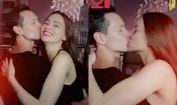 """Hà Hồ - Kim Lý phát """"cẩu lương"""" ngay đầu năm bằng clip hôn nhau liên tục, hội FA nhìn mà """"phát ghen"""""""
