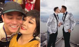 Sao Việt 3/1/2021: Thanh Thanh Hiền nói về việc chồng cũ đang ở nhà mình: '...anh giống như người khách tá túc thôi'; Hồ Vĩnh Khoa hôn bạn đời đồng giới