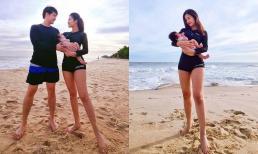Con gái cưng hơn 2 tháng tuổi, Đông Nhi khoe dáng cực chuẩn và tiết lộ điểm giống nhau của hai mẹ con