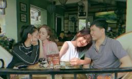 """Mũi trưởng Long bơ vơ khi """"hẹn hò"""" cùng Nam Thư và Khánh Vân, netizen lập tức ghép ngay Hậu Hoàng cho có đôi có cặp"""