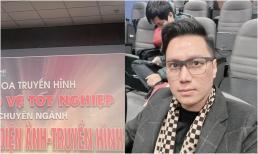 40 tuổi, 'ông chú trung niên' Nguyễn Lê Việt Anh vẫn lọ mọ đèn sách để bảo vệ tốt nghiệp Đại học