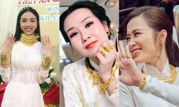 Ngày cưới: Á hậu Thúy An, Bảo Thy đeo kiềng vàng nặng cổ vẫn chưa nhiều bằng Võ Hạ Trâm, Đông Nhi