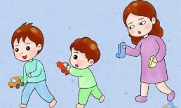 Trẻ con không thích đi tất trong thời tiết lạnh, mẹ chồng đã dạy tôi hai mẹo, thực sự hiệu quả!