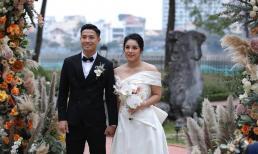 Đám cưới lần ba của Bùi Tiến Dũng - Khánh Linh ở Hà Nội: Quy tụ dàn cầu thủ nổi tiếng