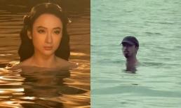 Angela Phương Trinh lộ đoạn clip ngâm mình trong nước cực gợi cảm nhưng lại bị chê đạo nhái Đen Vâu