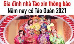 Tự Long, Vân Dung và dàn diễn viên vui mừng khi Táo Quân 2021 chính thức trở lại