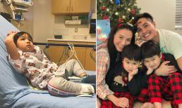 Vợ Baggio chia sẻ kinh nghiệm cho phụ huynh: 'Khi con bị bệnh nên làm gì?'