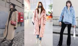 Áo khoác + áo len suông, mặc thế này vào mùa đông thì quá ưng ý, vừa thời trang lại vừa ấm áp!