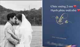 Hé lộ thiệp cưới của thiếu gia Phan Thành và vợ tiểu thư - Primmy Trương