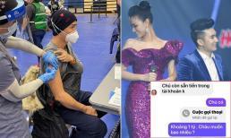Sao Việt 14/1/2021: Vợ chồng Quách Thành Danh đi tiêm phòng vắc-xin ngừa Covid-19 tại Mỹ; Kẻ lạ mạo danh Maya nhắn tin vay tiền Quang Hà
