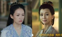 Cùng đóng trong 'Thượng dương phú', Chương Tử Di bị chê vì già đóng vai trẻ nhưng ngôi sao hơn cô 25 tuổi lại được khen