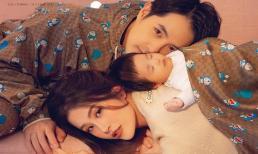 Con gái đầu lòng của Đông Nhi mới 2 tháng tuổi đã 'nằm ngủ' trên bìa tạp chí: Ai làm lại bé Winnie nữa đây?
