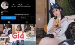 Huỳnh Anh - tình cũ Quang Hải phải lên tiếng khi bị lập tài khoản giả mạo