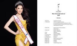 Á hậu Ngọc Thảo và toàn bộ thí sinh dự thi Hoa hậu Hòa bình Quốc tế 2020 sẽ bị cách ly 14 ngày