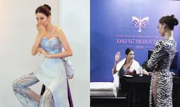 Hoàng Thùy bất ngờ thông báo dừng tham gia show truyền hình thực tế, Võ Hoàng Yến động viên gây chú ý?