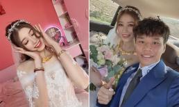 Cầu thủ Văn Dũng tổ chức đám cưới với vợ hot girl Vóc Đỗ