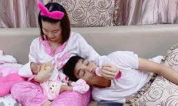 Gần 6 năm bên Mạc Văn Khoa, Thảo Vy lãi được hai 'cục': Vừa chăm con vừa chăm chồng