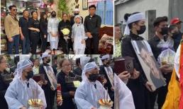 Gia đình tổ chức lễ an táng cố ca sĩ Vân Quang Long: Con gái lớn cầm tro cốt của bố, vợ hai Linh Lan không xuất hiện
