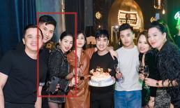 Lệ Quyên và 'bạn trai tin đồn' Lâm Bảo Châu xuất hiện trong sinh nhật của ca sĩ Quang Hà