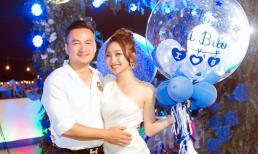 Người yêu kém tuổi gửi lời mừng sinh ngọt ngào đến diễn viên Chi Bảo: 'Yêu superman của vợ'
