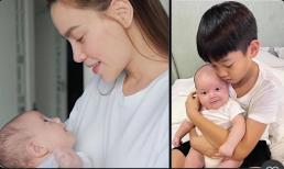 Khéo sinh như Hà Hồ: Con gái giống mẹ, con trai giống bố, đều thừa hưởng nhan sắc 'cực phẩm'