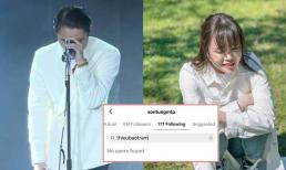 Sơn Tùng M-TP chính thức unfollow Thiều Bảo Trâm sau scandal chia tay