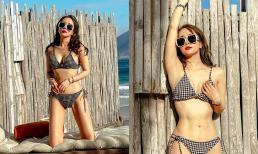 Quỳnh Nga diện bikini khoe vòng 1 căng tròn, Việt Anh vào bình luận gây chú ý