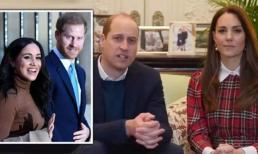 Vợ chồng Kate bị fan của Meghan và Harry tấn công vì hành động bắt chước lố bịch