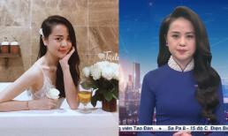 Nhan sắc đời thường của nữ MC VTV 9X xinh đẹp vừa lên sóng Thời sự 19h
