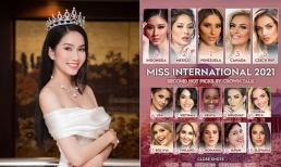 Á hậu Phương Anh được dự đoán lọt top 10 cuộc thi Hoa hậu Quốc tế 2021