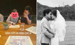 Phan Thành tất bật lo sân khấu đám cưới, Primmy Trương hé lộ ảnh chụp cùng phù dâu