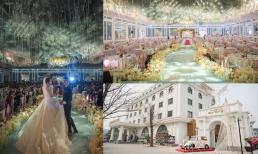 Đám cưới siêu hoành tráng ở Bắc Ninh: Bố cô dâu tự tay thiết kế hôn lễ với chi phí hơn 30 tỷ, gần 300 xe sang xếp hàng