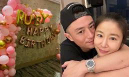 Lâm Tâm Như khoe ảnh sinh nhật tuổi 45 cùng ông xã Hoắc Kiến Hoa, dập tan tin đồn lục đục vợ chồng