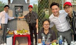 Sau đêm nhạc tưởng nhớ Vân Quang Long, Dương Ngọc Thái và Quách Tuấn Du viếng mộ cố ca sĩ